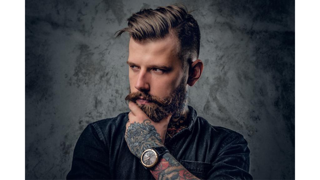 types of beards: bossman beard