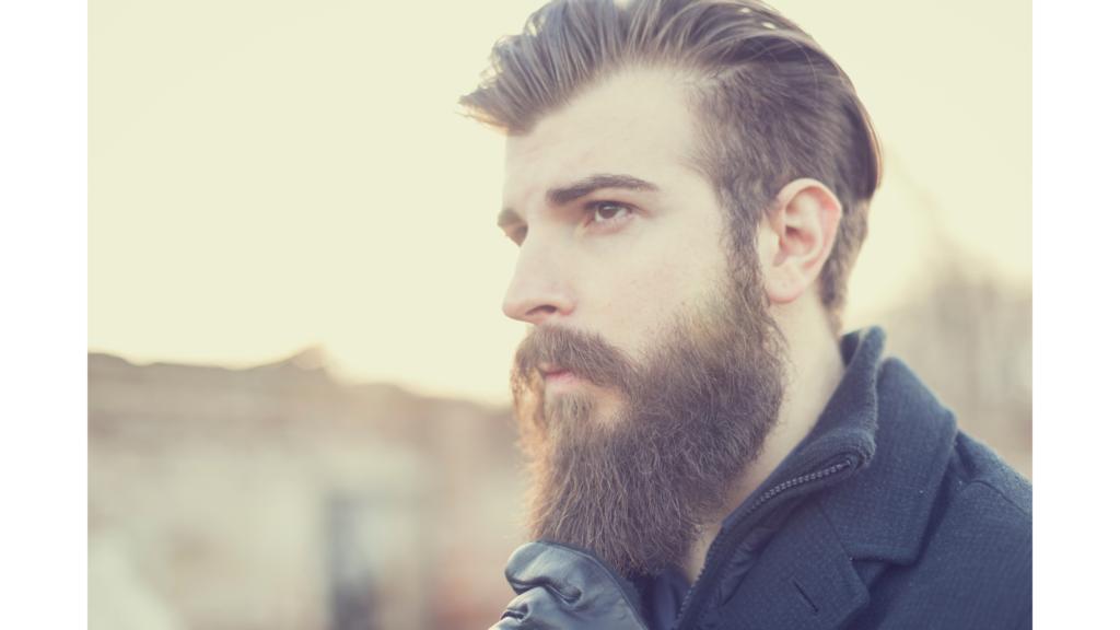 types of beards: kratos beard