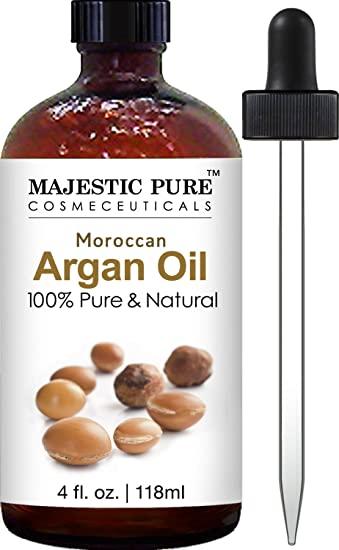 beard growth oil: argan oil