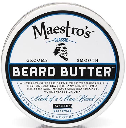 beard butte recipe: Maestro's Classic Mark of a Man Beard Butter