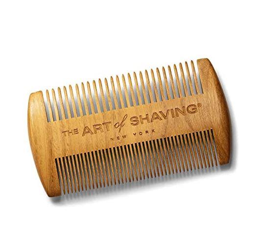 custom beard comb: The Art of Shaving Beard Comb