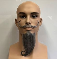 beard extensions: Don Quixote Beard and Mustache Set