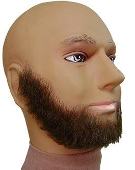 beard extensions: Full Beard Short
