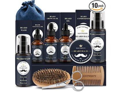 beard grooming kits: NOVTWENTY Beard Grooming Kit