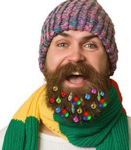 beard lights: Multicolored beard lights