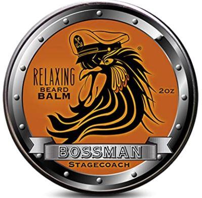 beard relaxer: Balm Bossman Relaxing Beard Balm