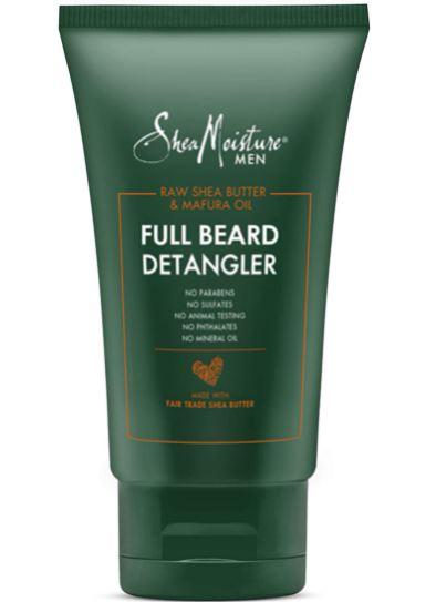 beard relaxer: Shea Moisture Men's Full Beard Detangler