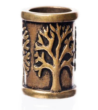 beard rings: Yggdrasil Beard Ring -Bronze