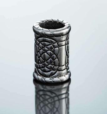 beard rings: Northern Viking Jewelry-Beard Ring Knotwork