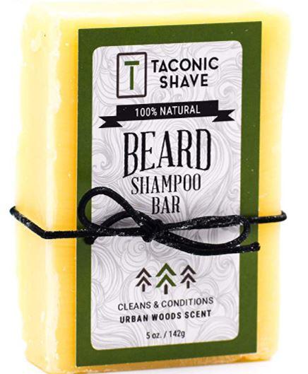 beard soap: Taconic Shave Beard Shampoo Bar