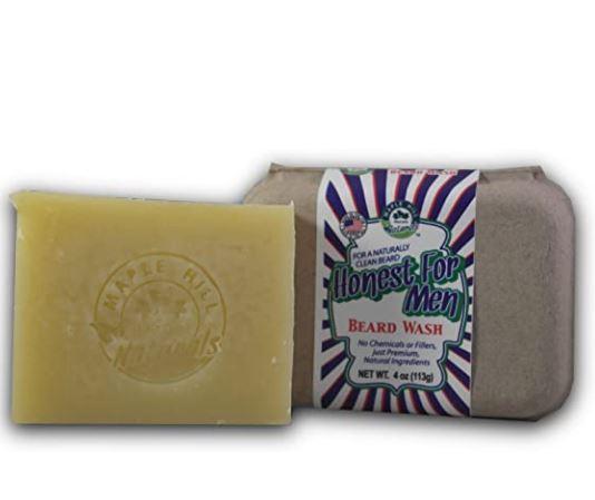 beard soap: Maple Hill Naturals Soap
