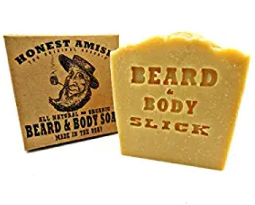 beard soap: Honest Amish Beard & Body Soap