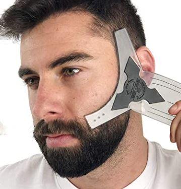 beard shaping tool: Anti-Slip Beard Shaping Tool