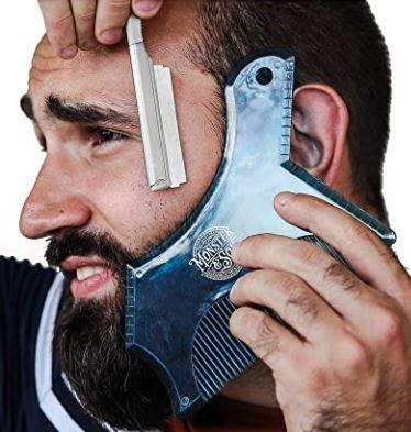 beard shaping Tool: Monster & Son Oversized Beard Shaping Tool