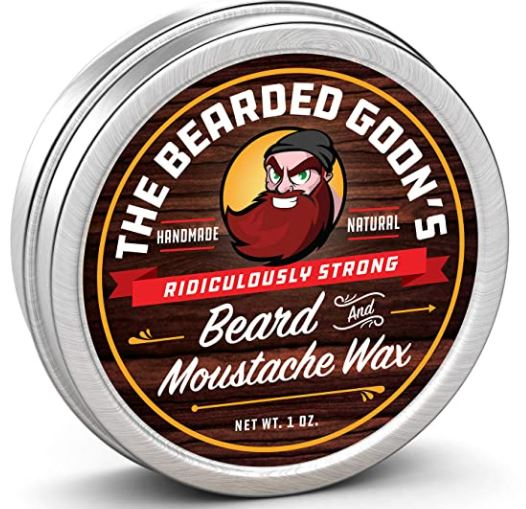 best beard wax: Bearded Goons Beard and Mustache Wax