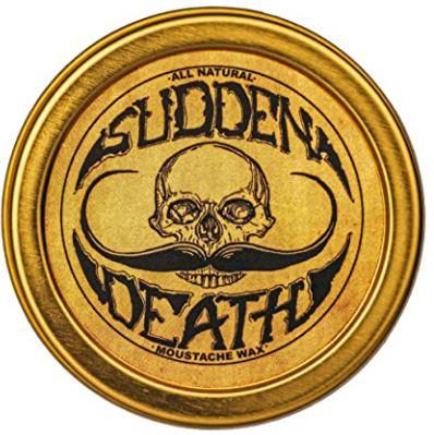best beard wax: Sudden Death Mustache & Beard Wax
