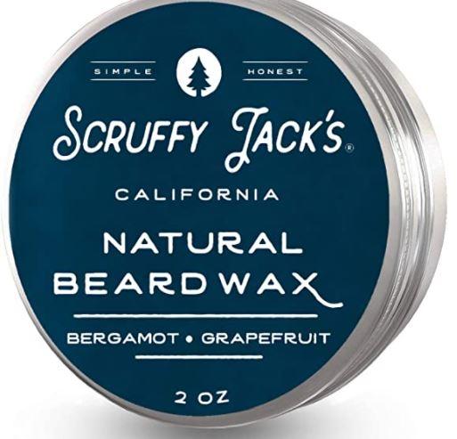 best beard wax: Scruffy Jack's Premium Beard Balm/Wax