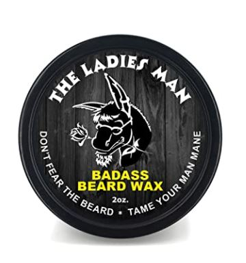 best beard wax: Badass Beard Care Beard Wax for Men