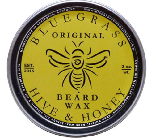 best beard wax: Original Beard Wax by Bluegrass Hive & Honey