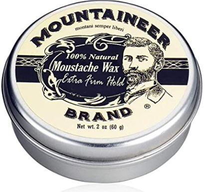 best beard wax: Mustache Wax by Mountaineer Brand