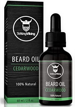 beard growth oil: cedarwood oil