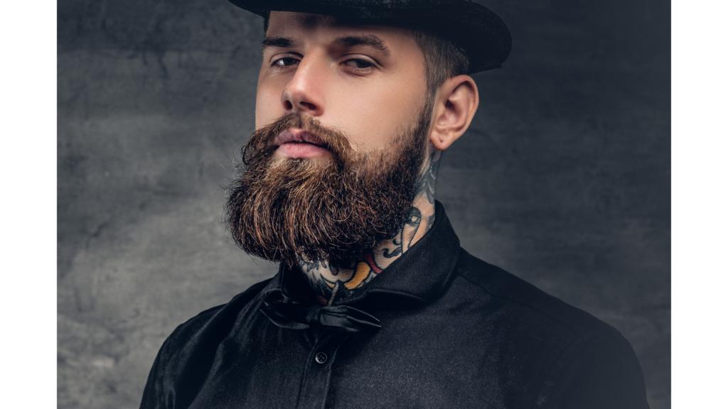 types of beards: fake beard
