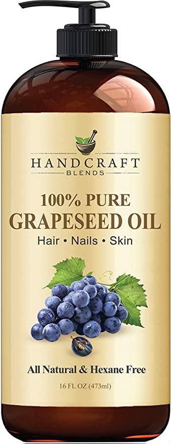 beard growth oil: grape seed oil