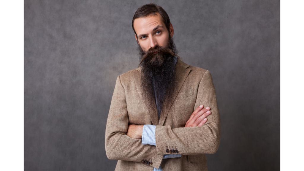 types of beards: Merlin beard