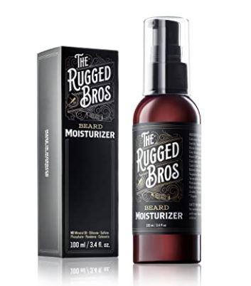 beard moisturizer: Rugged Bros Beard Moisturizer for Men