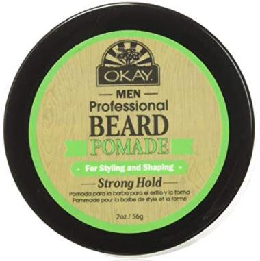 beard Pomade: OKAY Men's Super Hold Beard Pomade