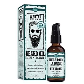 beard growth oil: tea tree oil