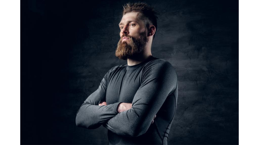 types of beards: Zeus beard