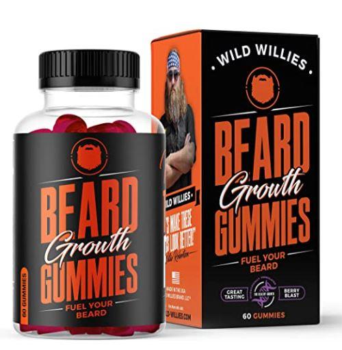 beard growth supplement: Beard Growth gummies