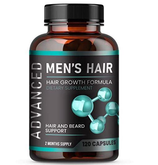beard growth supplement: MEN'S HAIR Hair Growth Vitamins For Men