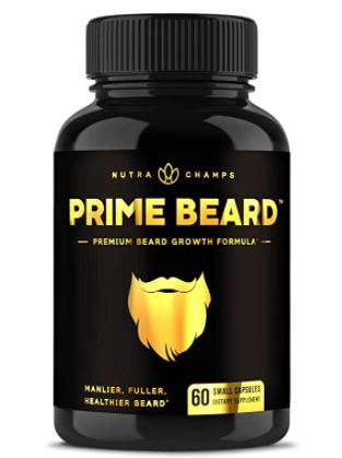 beard growth supplement: Nutra Champs Beard Growth Vitamins Supplement for Men