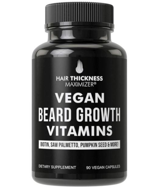 beard growth supplement: Vegan Beard Vitamins