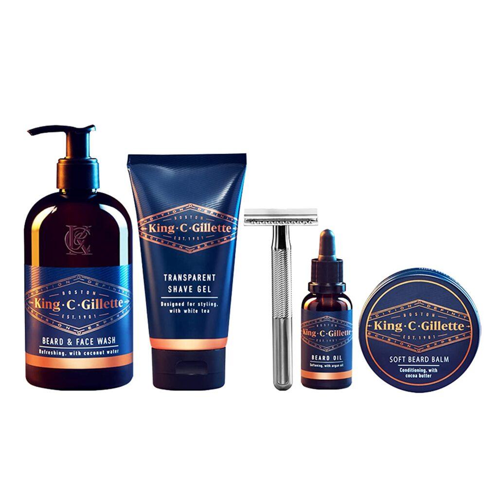 best beard care kit: King C. Gillette Complete Men's Beard Care Kit