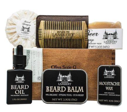 best beard care kit: Maison Lambert Ultimate Beard Kit