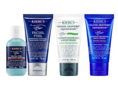 best beard care kit: Kiehl's Ultimate Shave Set