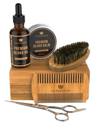 best beard care kit: Naturenics Premium Beard Grooming