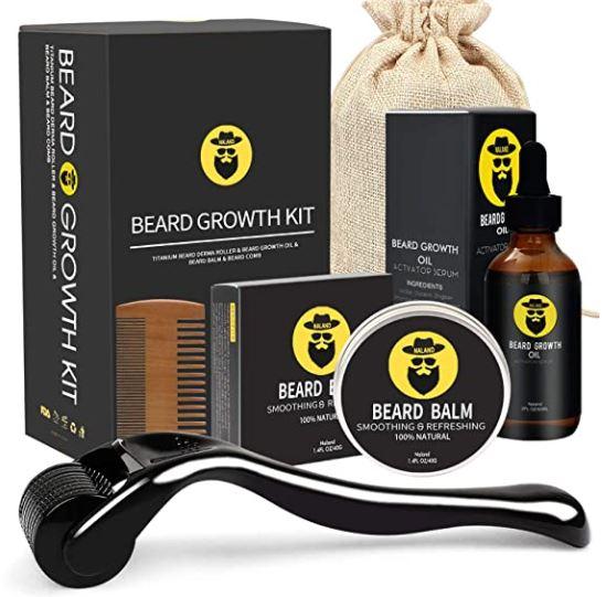 beard growth kit: Naland Beard Growth Kit