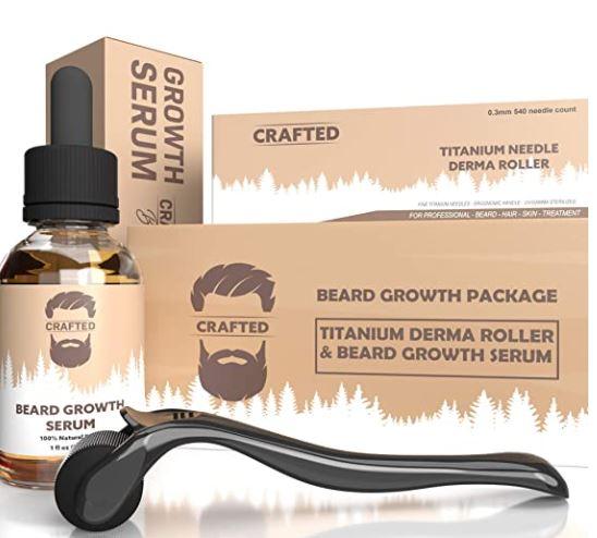beard growth kit: Crafted Dukes Beard Growth Kit