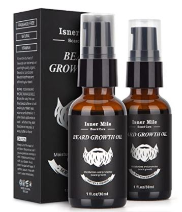 beard growth kit: ISNER MILE Beard Growth Oil