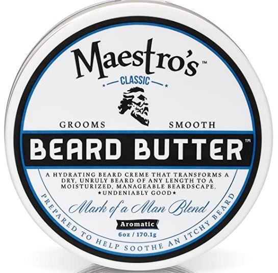 best beard products 2021: Maestro's Beard Butter
