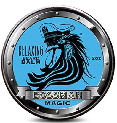 best beard products 2021: Bossman Beard Relaxing Balm
