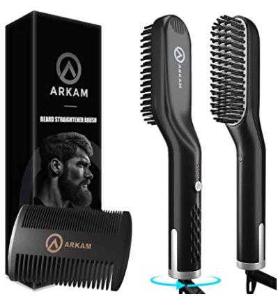 best beard products 2021: Arkam Beard Straightener