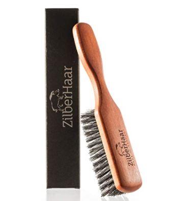 best beard products 2021: ZilberHaar Beard Brush (Soft Bristles)
