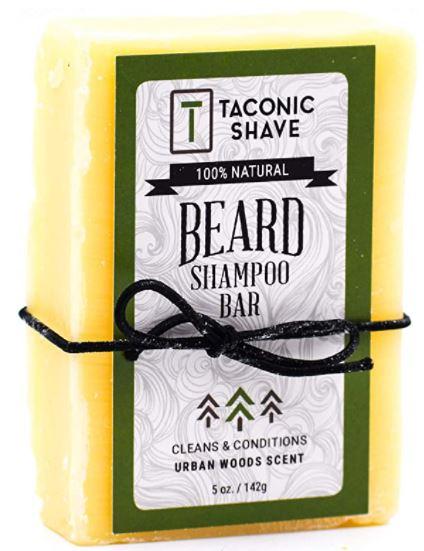 best beard products: Taconic Shave Beard Shampoo Bar