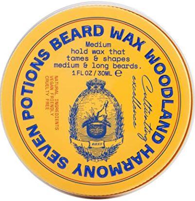 best beard products 2021: Seven Potions Beard Wax